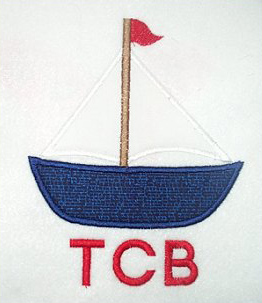 Applique Boat