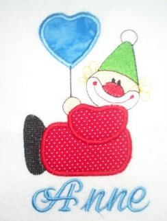 Applique Clown