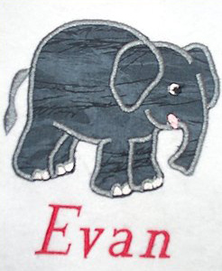 Applique Elephant