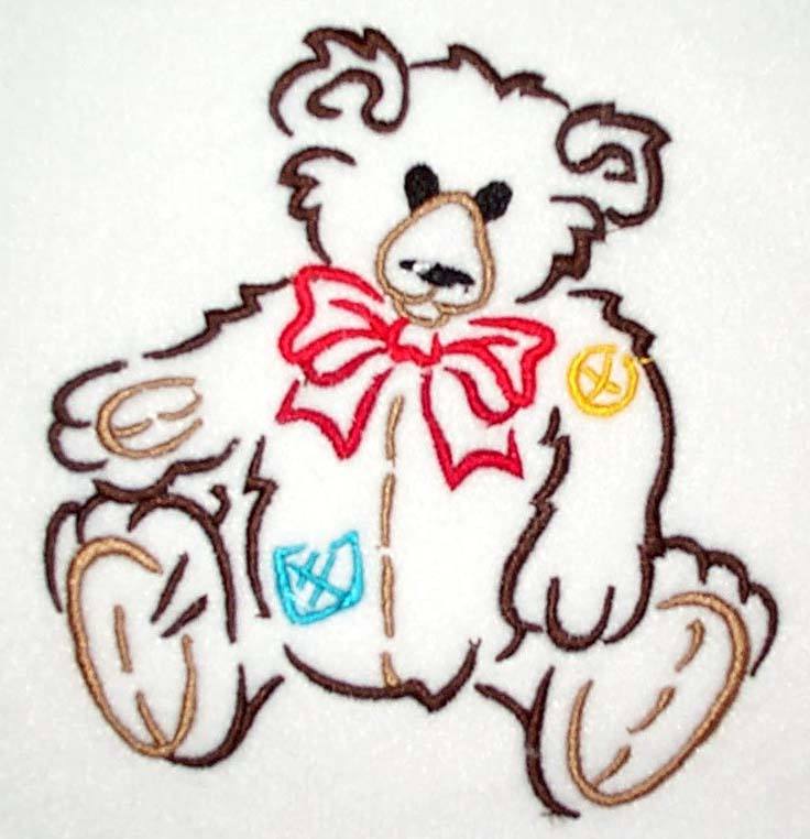 Brushstroke Bear