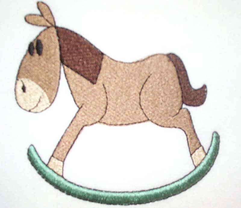 Cartoon Rocking Horse