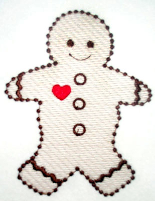 Candlewick Gingerbread Man