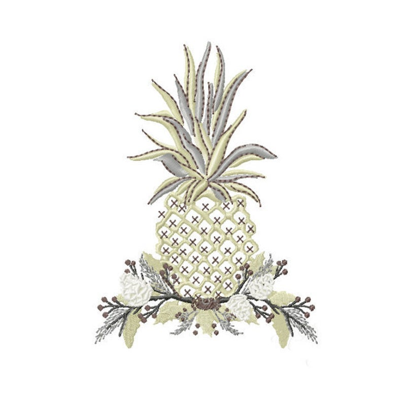 Welcome Holiday Pineapple