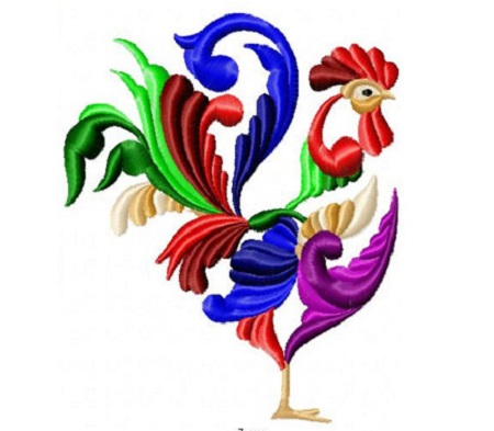 Jacobean Rooster