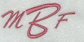 Brush Monogram