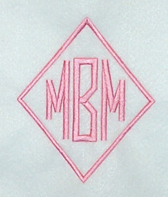 Monogram Designs Embroidery Initial Impressions