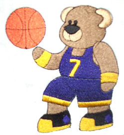Basketball bear