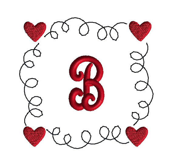 Squiggle Heart Frame