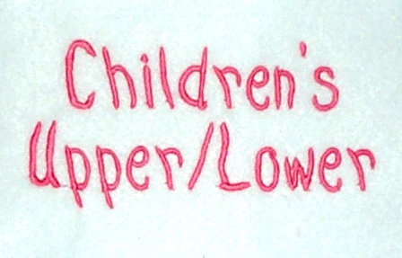 Children's Upper & Lower
