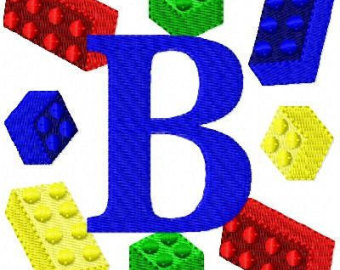 Fancy One, Two or Three Letter Embroidery Designs for