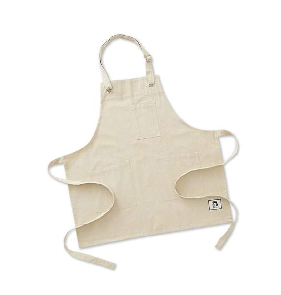 personalized embroidered apron flax