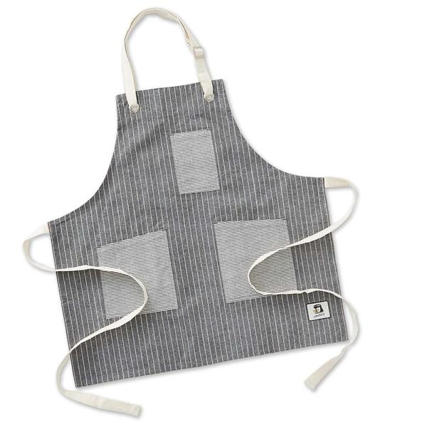 personalized embroidered apron fresh stripe