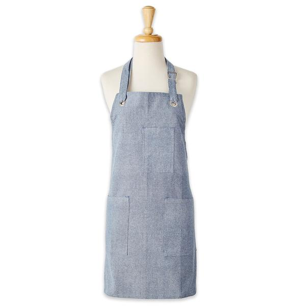 personalized pantry apron chambray full view