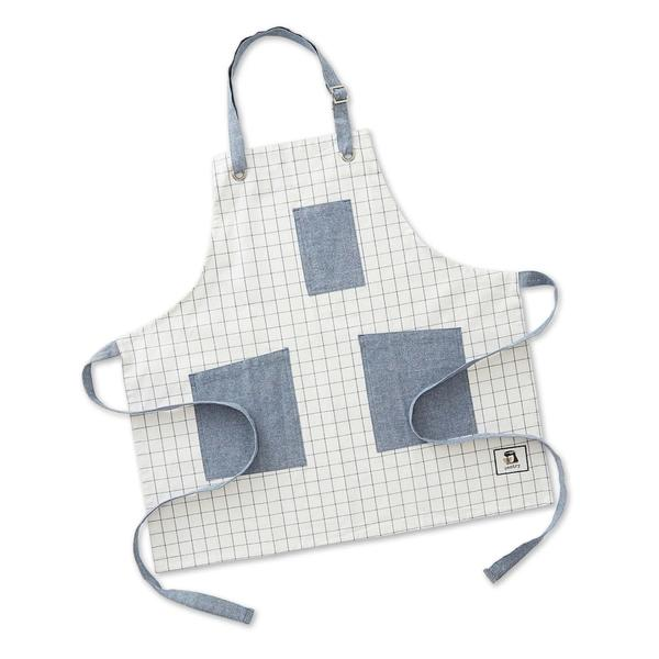 personalized pantry apron windowpane