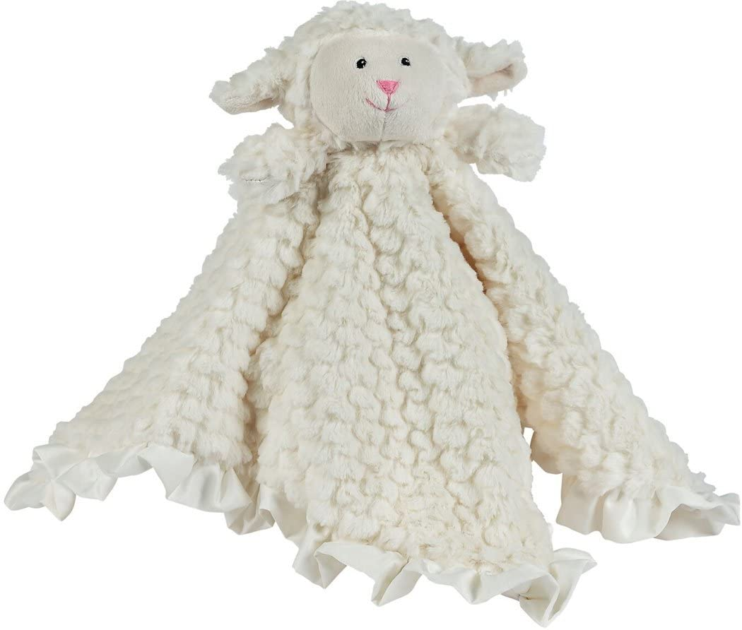 Lillie the Lamb Baby Security Blanket