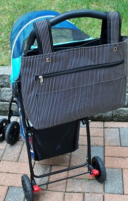 The Snapster Stroller Diaper Bag