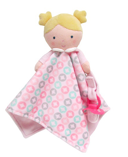 Pink Blanky Doll