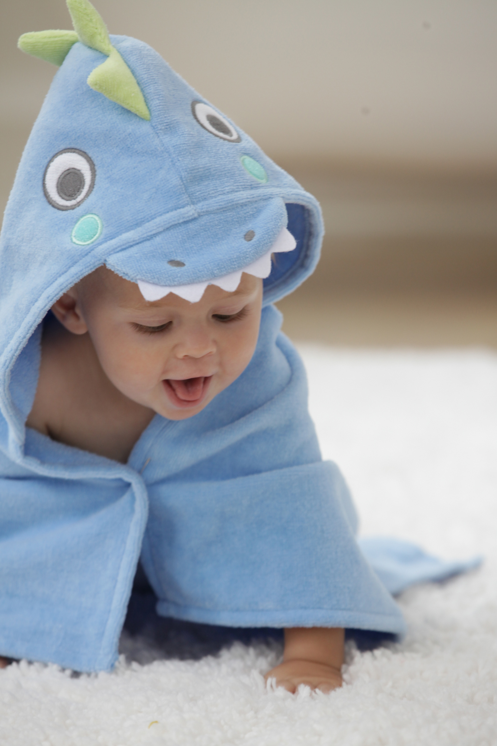 Infant Character Towel Wrap