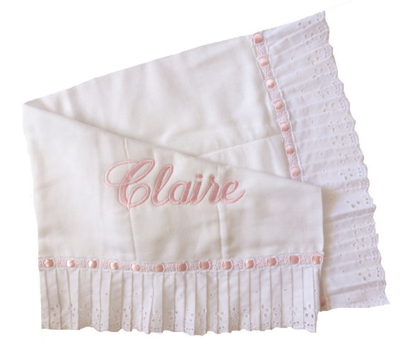 Pleated Eyelet Burpee - shown in pink