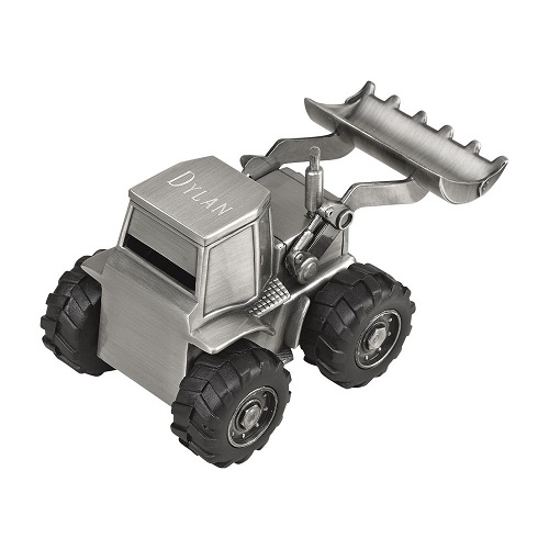 Engraved Front End Loader Bank