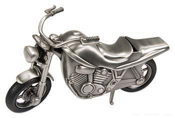 Engraved Motorcycle Bank