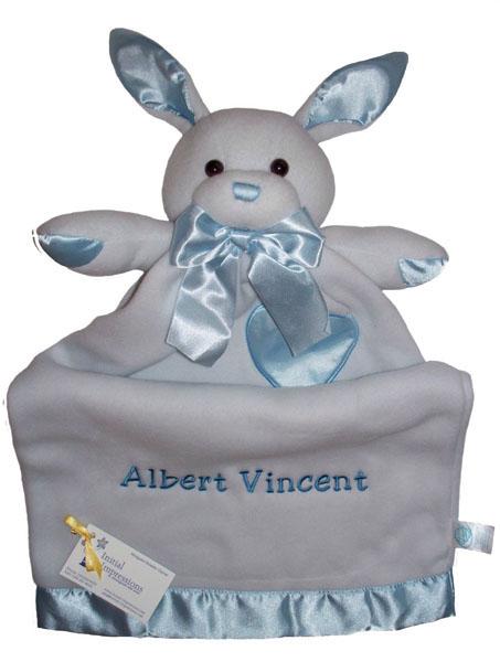 Traditional lovie animal blankets infants security stroller benny bunny negle Gallery
