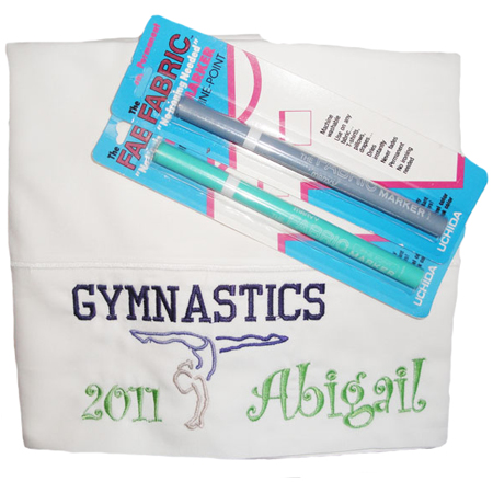 Gymnastics Sports Autograph Pillowcase