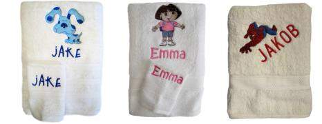 Character Towel Sets