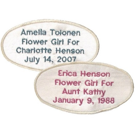 Flower Girl Labels