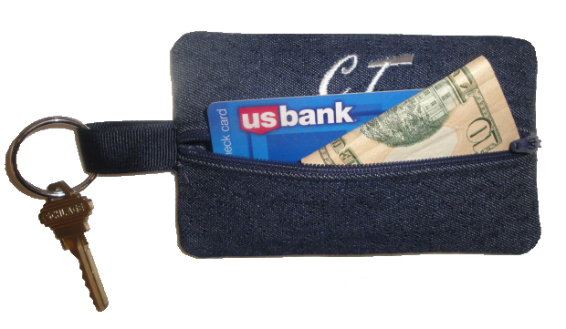 Key Chain Credit Card Holder