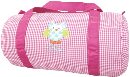 Gingham Duffel Bag