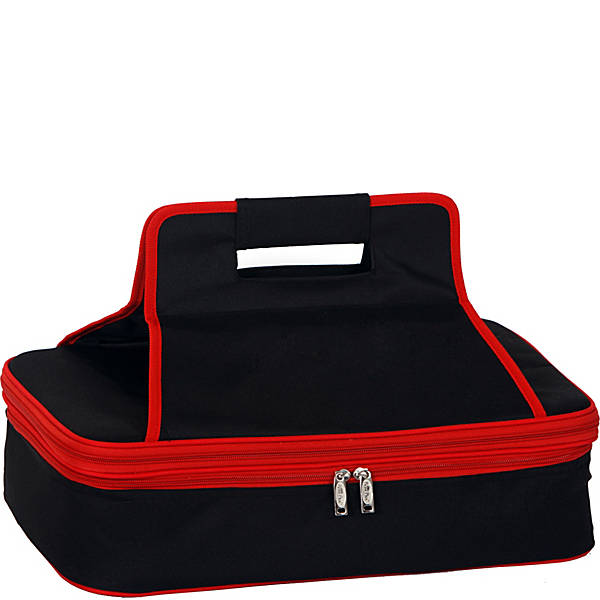 Navy and Red Ultimate Casserole Carrier