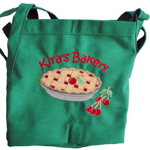 Green Teen Chefs Apron