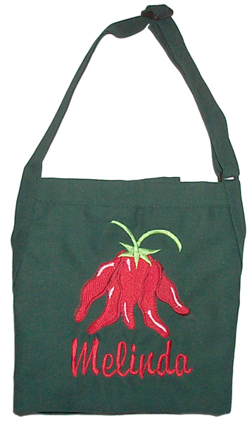 Hunter Green Teen Chefs Apron