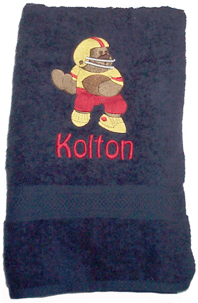 Black Towel Set