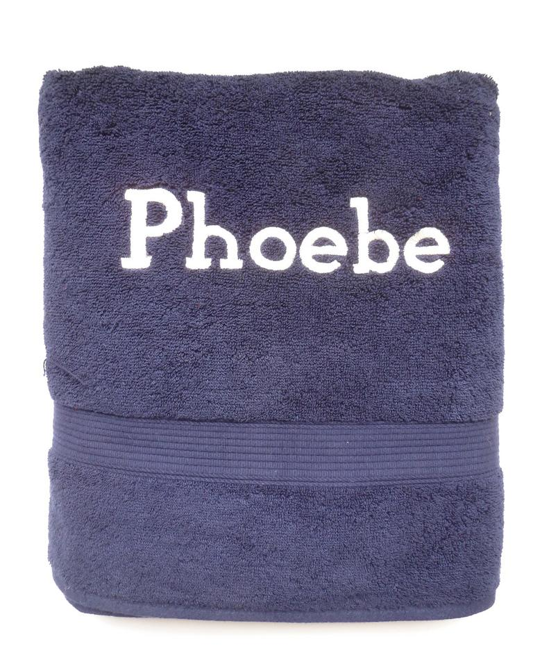 Navy Towel Set