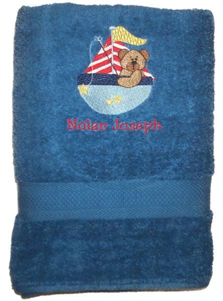Sandoval Blue Towel Set