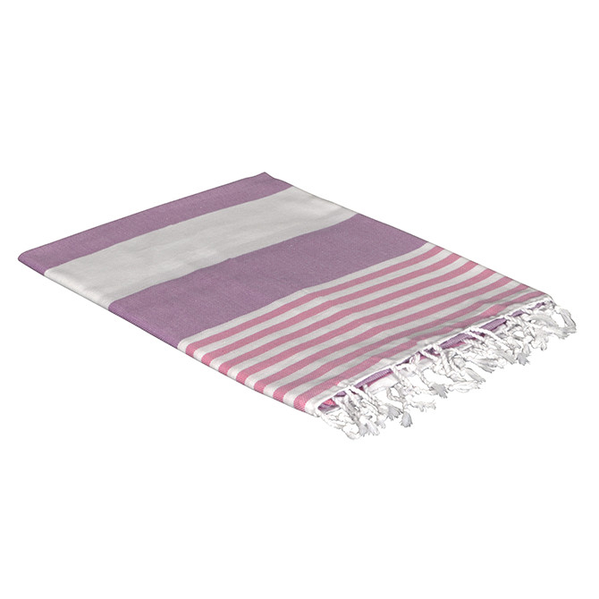 Purple/Pink Turkish Boreas Style Towels