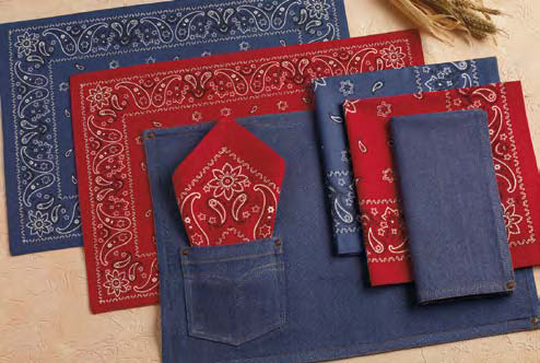 Western Placemats and Napkins