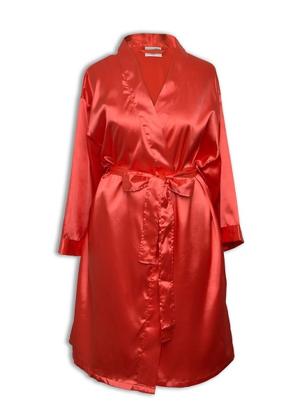 Satin Bridesmaids Dressing Gown   Gifts   Bridesmaids   Initial ...
