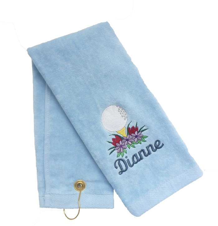 Light Blue Golf and Sports Towel