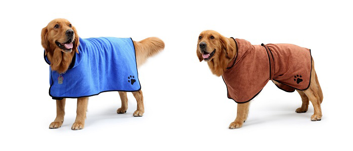personalized dog robe