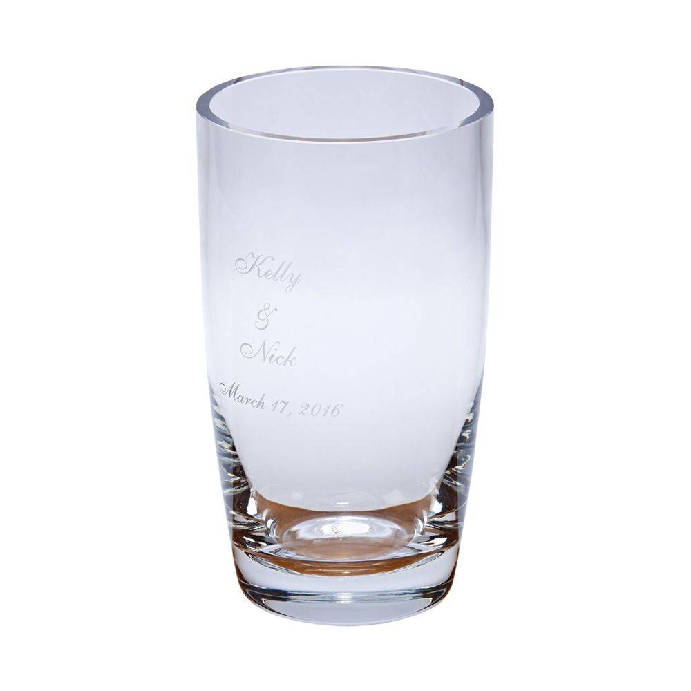 Optic Crystal Vase