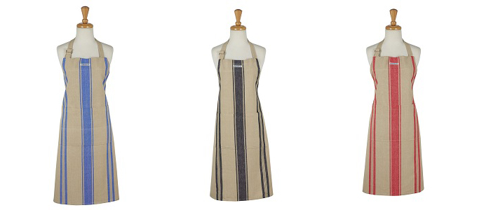 French Market Stripe Apron