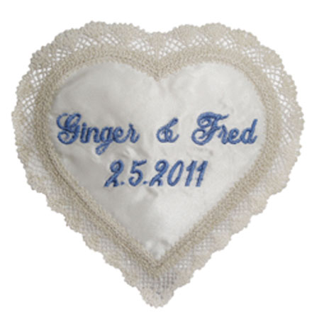Wedding Label Heart